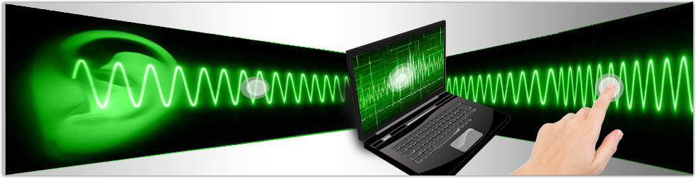 Automatic speech recognition software converts speech into text